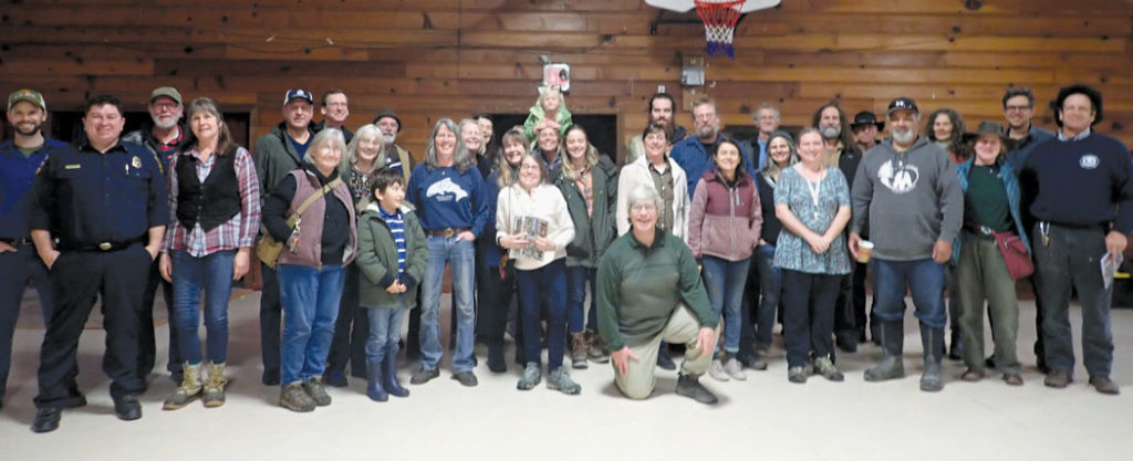 Group photo of Forest health meeting attendees