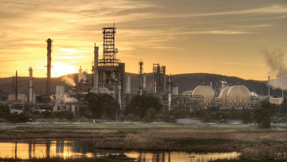 Marathon Martinez refinery.