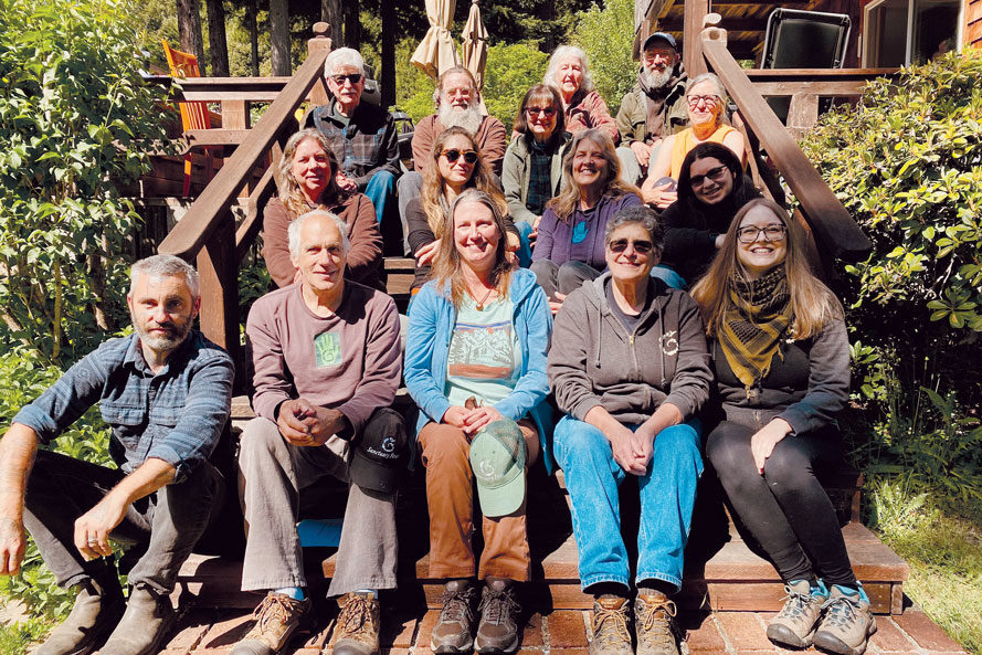 Sanctuary Forest Staff & Board members on Annual Retreat, May 2021
