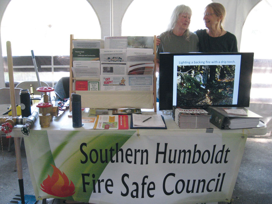 SHFSC Tabling at Embracing Fire Day 2019
